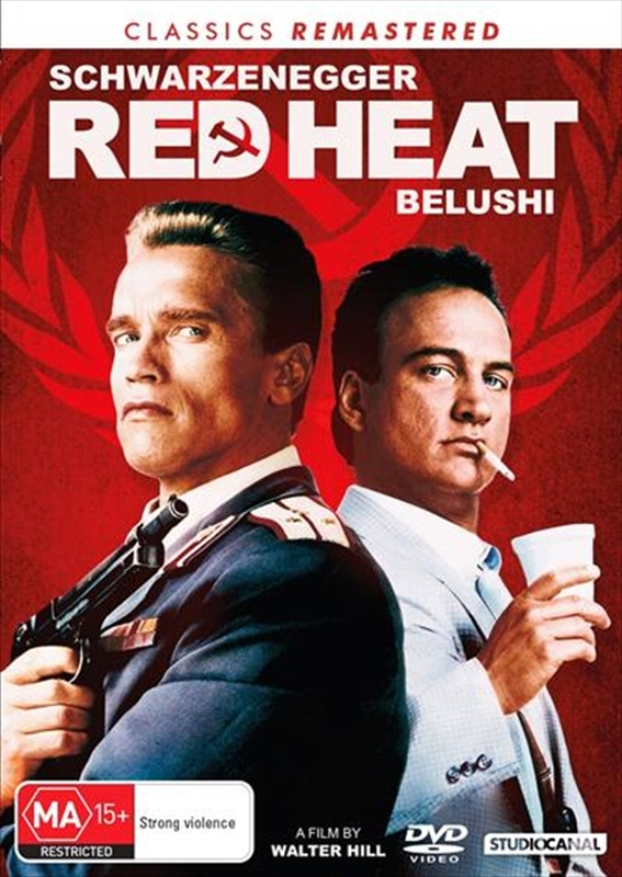 Classics Remastered: Red Heat on DVD