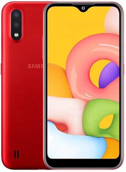 Samsung Galaxy A01 (2020) (16GB/2GB RAM) - Red