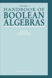 Handbook of Boolean Algebras: Volume 2 by Gerard Meurant