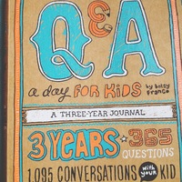 Q&A a Day for Kids: 3 Year Journal image