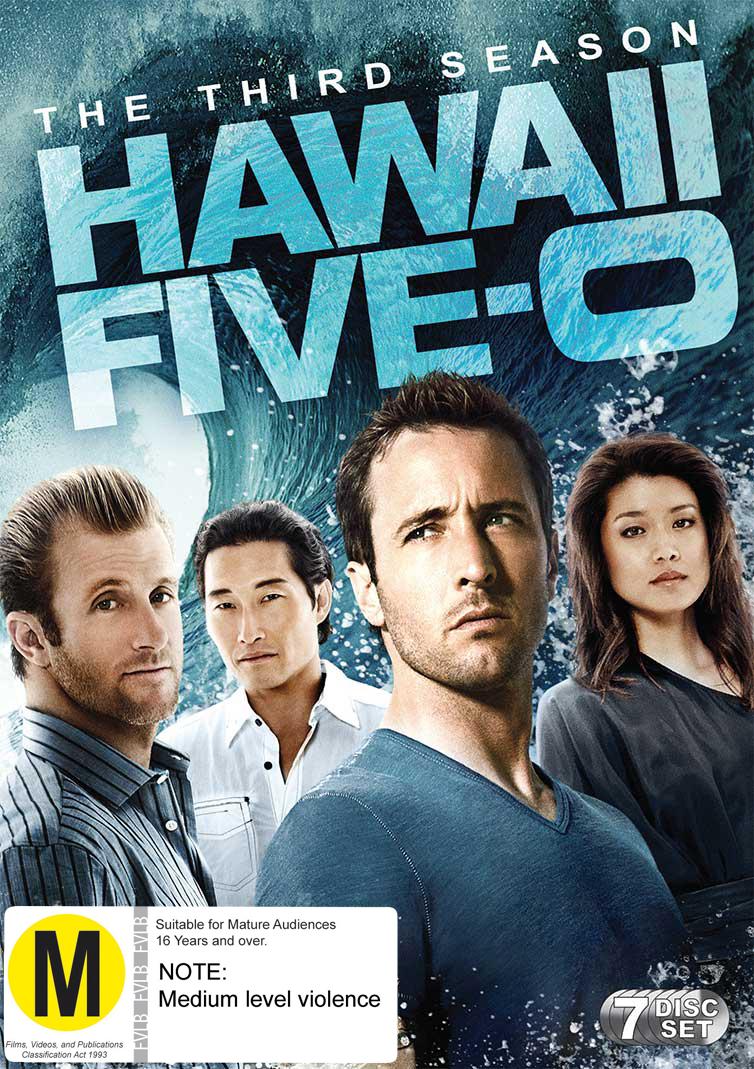 Hawaii Five-O - The Complete Third Season on DVD image