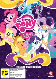 My Little Pony: Friendship Is Magic Season 3 Collection on DVD