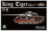 Takom 1/35 King Tiger Sd.Kfz.182 Porsche Turret Model Kit