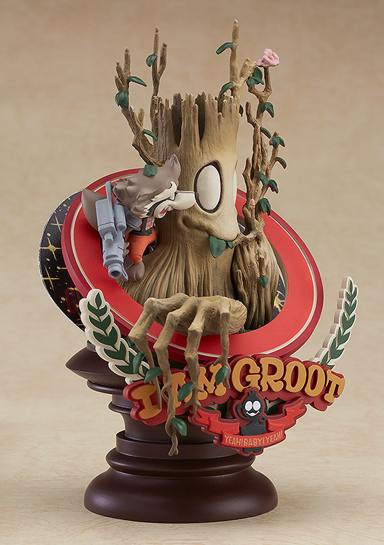 Marvel Manga Variant: Groot (Superlog Ver.) - PVC Figure image