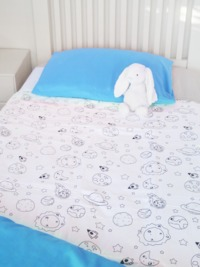 Brolly Sheets: Space Galaxy - Large/King Single