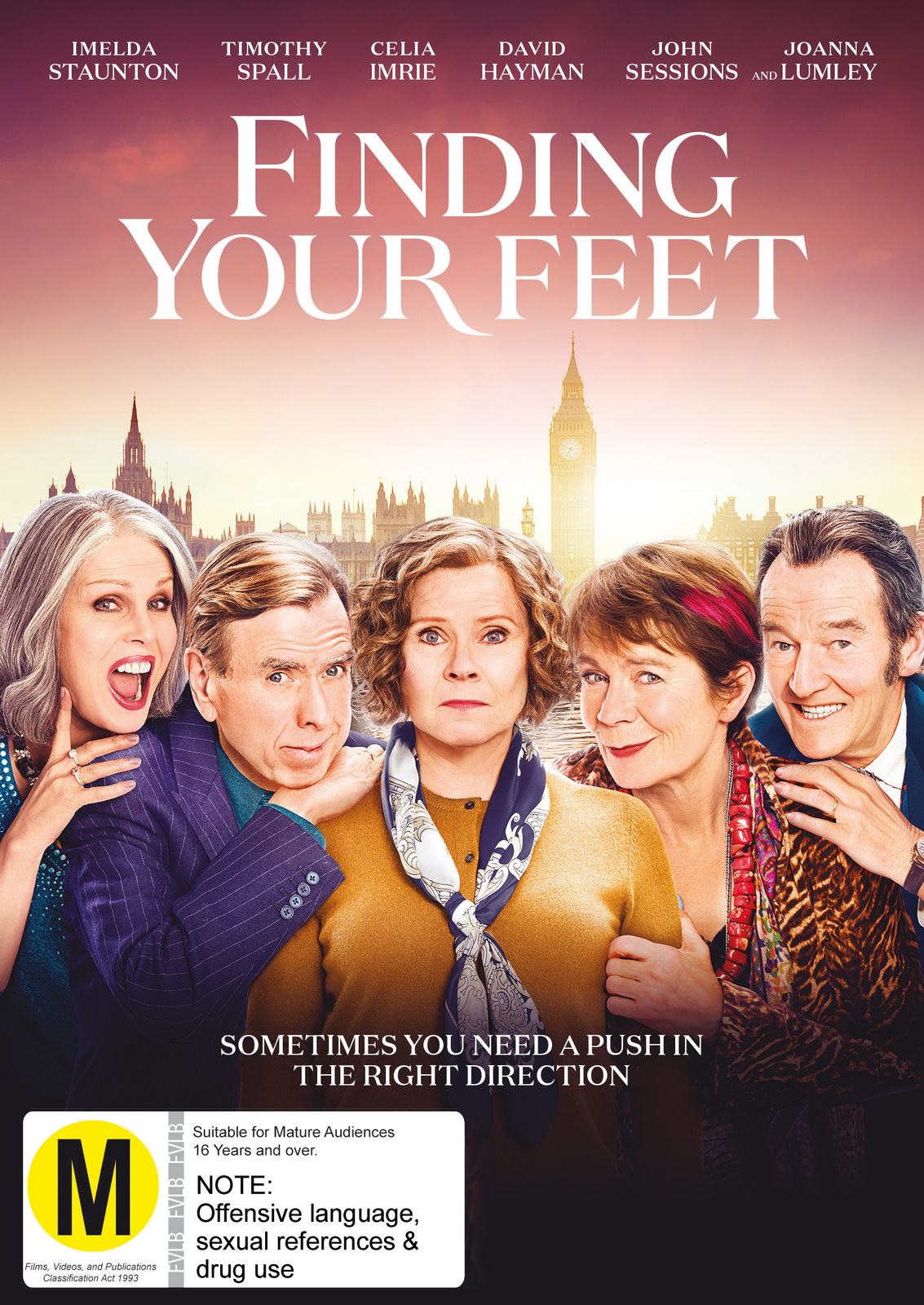 Finding Your Feet on DVD image