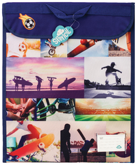 Spencil: Sports Collage Homework Bag