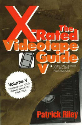 X-Rated Videotape Guide: No. 5 by Patrick Riley image