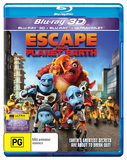 Escape From Planet Earth on Blu-ray, 3D Blu-ray, UV