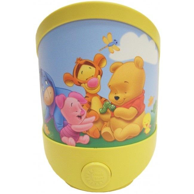 Disney LED Battery Operated Magic Night Light - Baby Pooh image