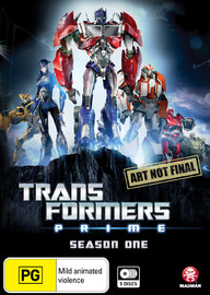 Transformers Prime - Season 1 Collection on DVD