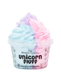 The Bonbon Factory Body Wash & Shave Mousse - Unicorn Fluff (200g)