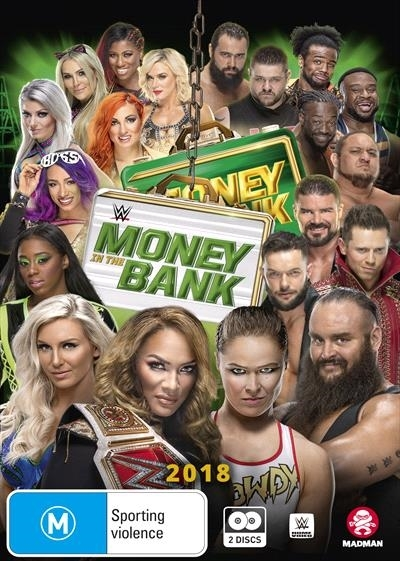 Wwe: Money In The Bank 2018 on DVD image