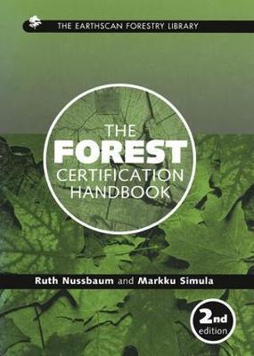 The Forest Certification Handbook by Ruth Nussbaum image