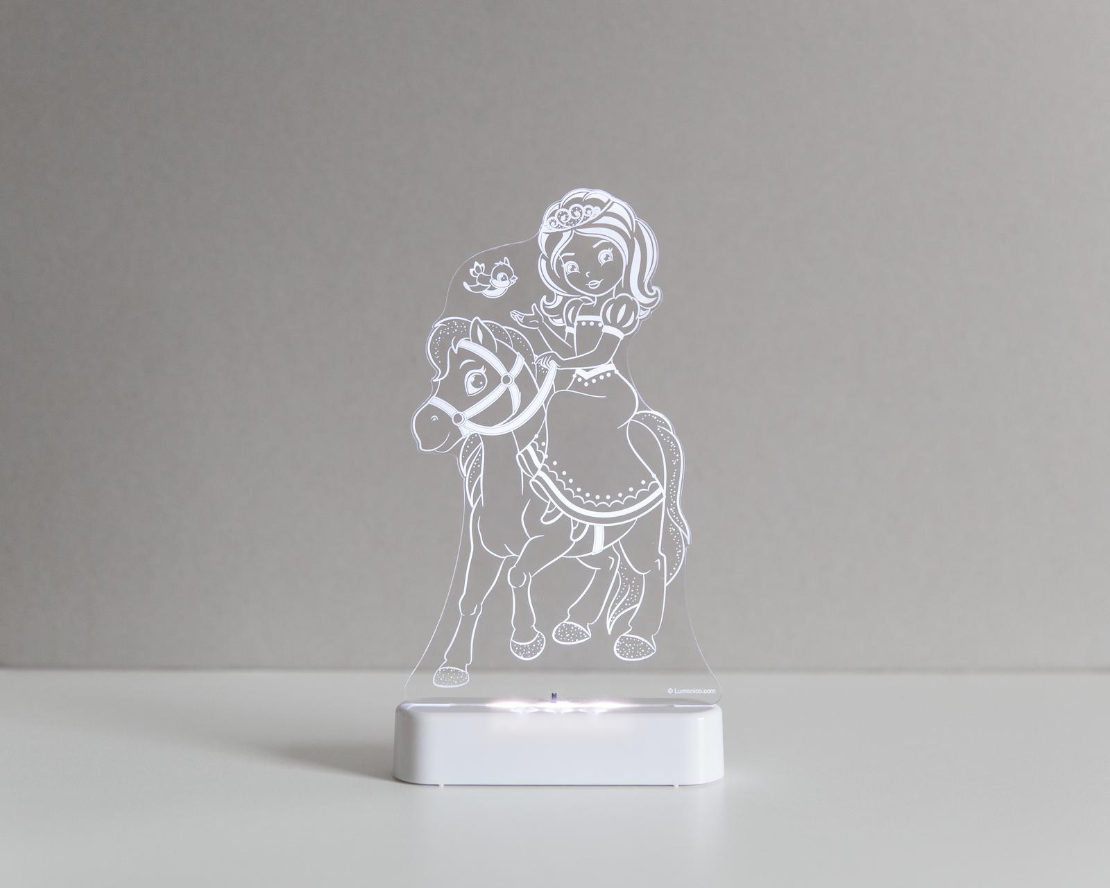 Aloka: Night Light - Princess & Pony image