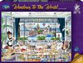 Holdson: 1,000 Piece Puzzle - Windows of the World (London Tea Party)