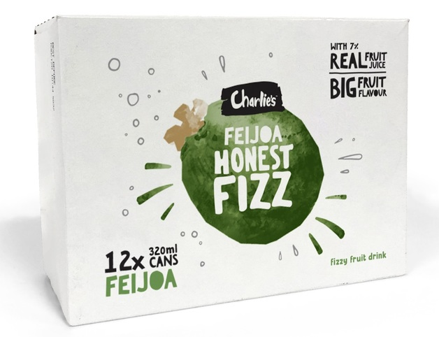 Charlie's Honest Fizz - Feijoa (320ml)