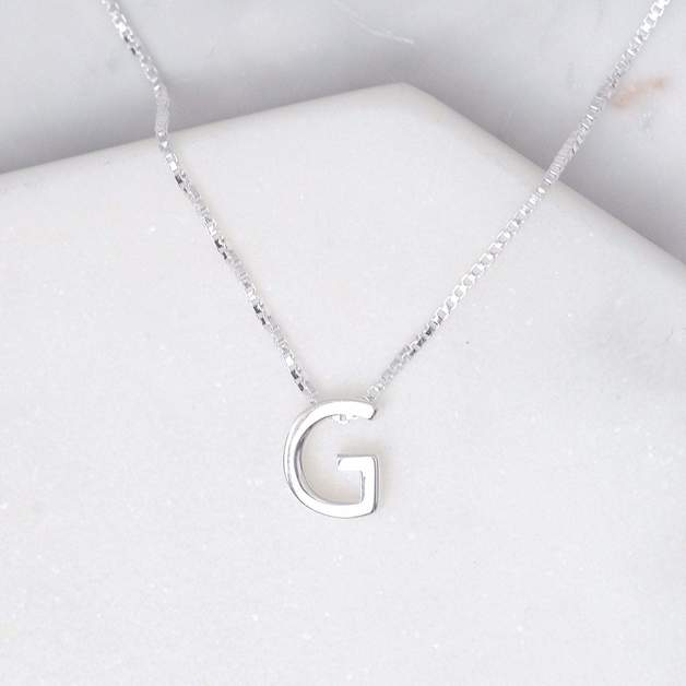 Midsummer Star: Alphabet Necklace - G