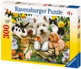 Ravensburger 300 Piece Jigsaw Puzzle - Happy Animal Babies