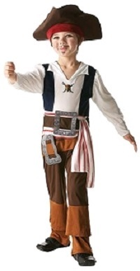Captain Jack Sparrow Kids Costume (Medium)
