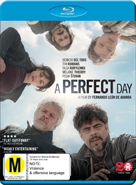A Perfect Day on Blu-ray