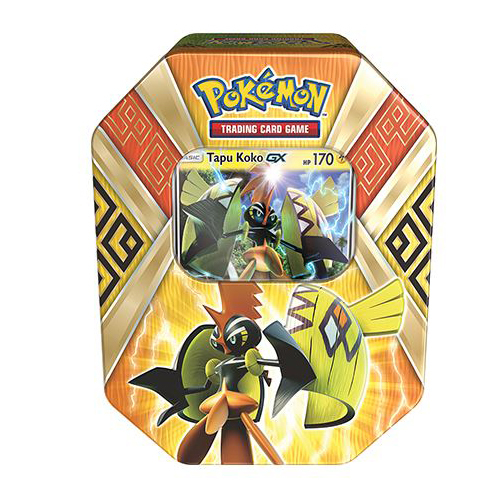 Pokemon GX TCG Island Guardians Tin: Tapu Koko-GX