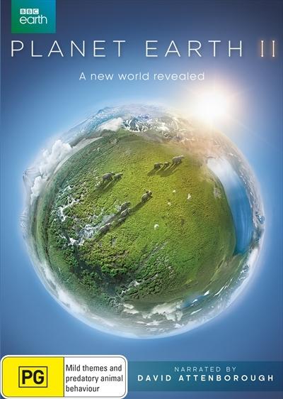 Planet Earth II on DVD image