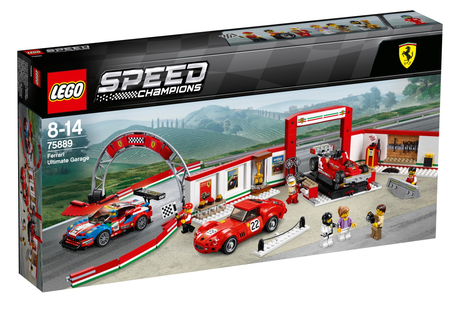 LEGO Speed Champions: Ferrari Ultimate Garage (75889)
