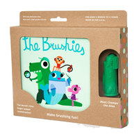 The Brushies: Brushie & Book Set - Chomps The Dino