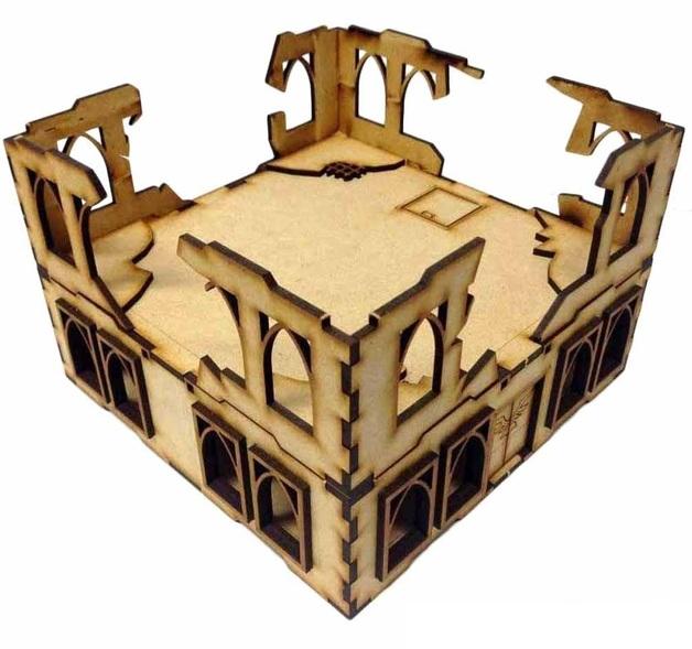 TTCombat: Tabletop Scenics - Building & Ruins