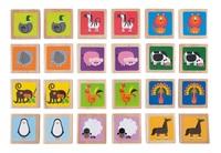 Hape: Animals Memo Game - 24-Pieces