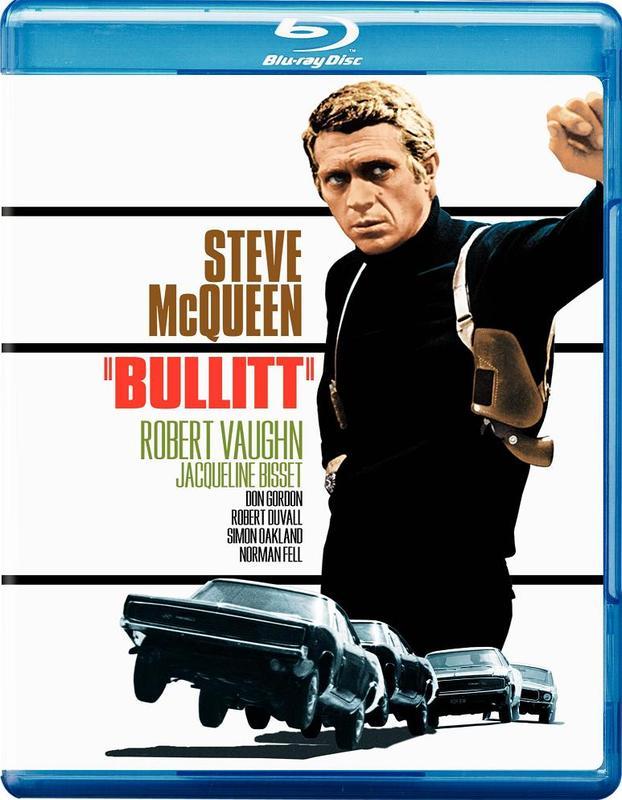 Bullitt on Blu-ray
