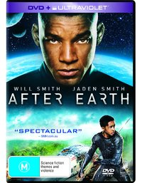 After Earth on DVD