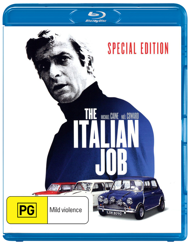 The Italian Job on Blu-ray