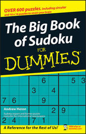 The Big Book of SuDoku For Dummies by Andrew Heron image