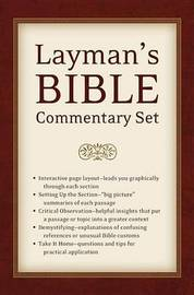 Layman's Bible Commentary Set by Dr Tremper Longman