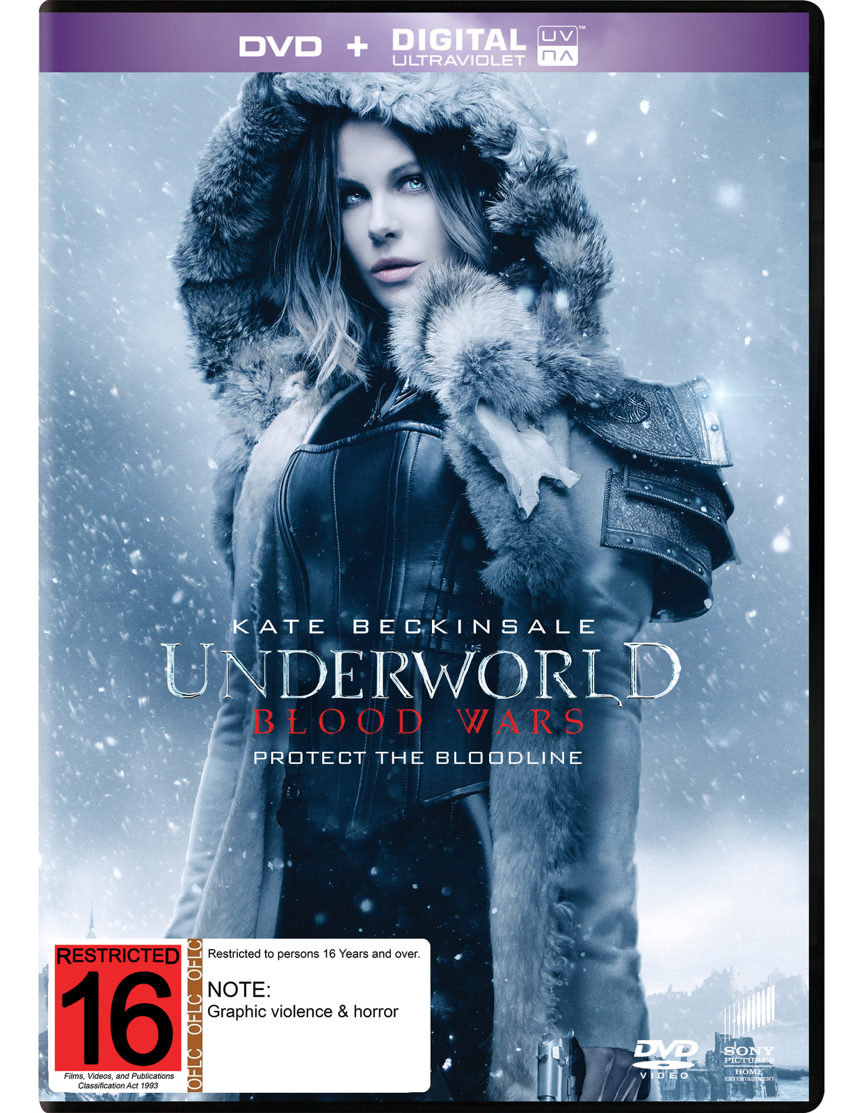 underworld blood wars dvd