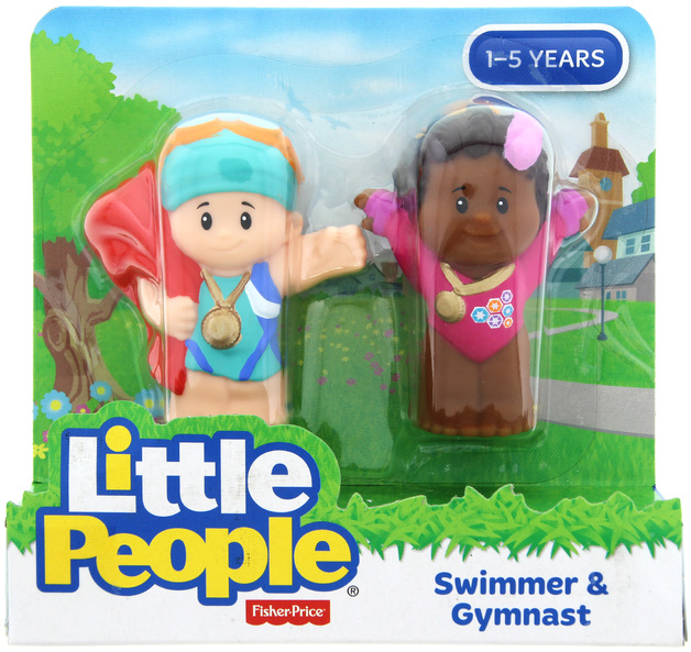 Fisher-Price: Little People - Swimmer & Gymnast