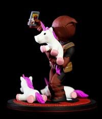 Deadpool: Unicorn Selfie - Q-Fig Diorama image