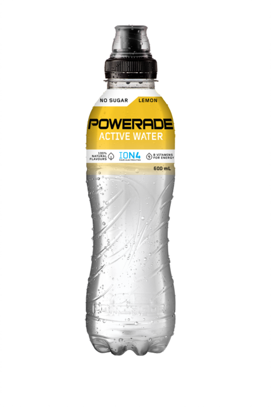 Powerade Active Water Lemon 750ml (15pk)