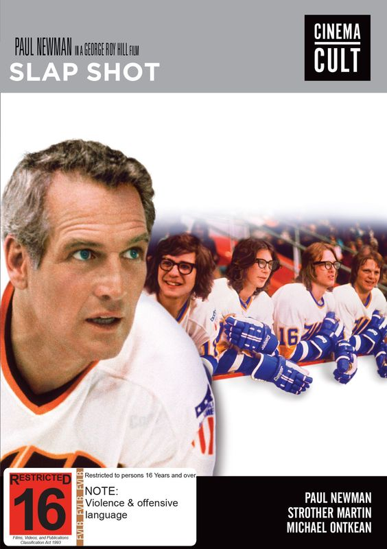 Slap Shot on DVD