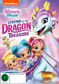 Shimmer And Shine: Legend Of The Dragon Treasure on DVD image