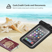 Waterproof Pouch Cellphone Dry Bag - Green