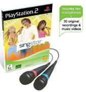 SingStar Pop with microphones for PlayStation 2