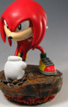 """Sonic the Hedgehog 10"""" Statue - Knuckles the Echidna (Limited Ed. 1500)"""