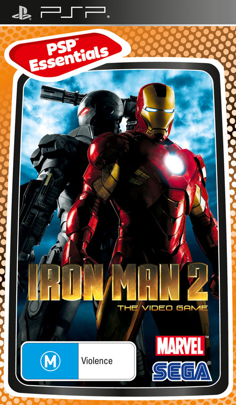 Iron Man 2 (Essentials) for PSP
