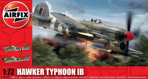 Airfix Hawker Typhoon 1B 1:72 model kit