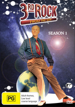 3rd Rock From The Sun Season 1 (3 Discs) on DVD
