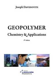 Geopolymer Chemistry and Applications, 4th Ed by Joseph Davidovits