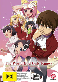 The World God Only Knows - Ultimate Collection on DVD